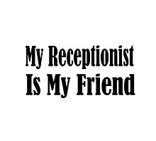 Receptionist Photographic Print
