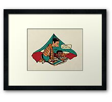 Troy and Abed's Dope Adventures Framed Print