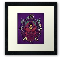 Utterly Alone Framed Print