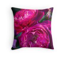 Wild Blue Yonder Rose 2 Throw Pillow