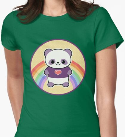 Cute Purple Panda T-Shirt
