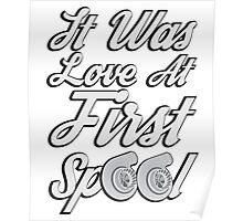 Love at first Spool Poster