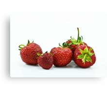 Strawberries and .... Canvas Print