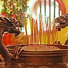 Dragon Joss-Sticks Burner by IngeHG