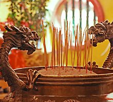 Dragon Joss-Sticks Burner by IngeHG