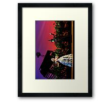 Jemma Rix and Lucy Durack in Wicked Framed Print
