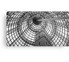 Circular Metal and the Shot Tower - Melbourne Central Metal Print