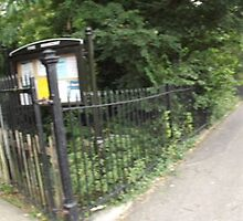 Rookery side entrance/street -(120811)- digital panorama photo by paulramnora