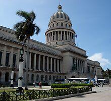 Capitol, Havana, Cuba by Jesus Diaz
