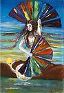 Rainbow Goddess after the Rain by Elisabeth Dubois