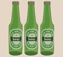 Beer bottles by MuddyDesigns