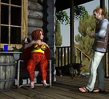An Afternoon at the Cabin by Rivendell