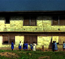 Ibadan School Children by Wayne King