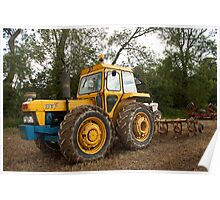Roadless 120 tractor - BT livery Poster