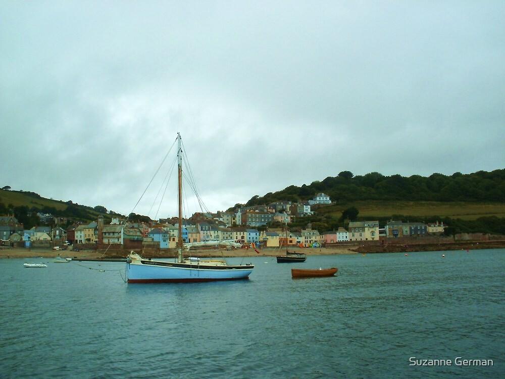 Cornwall Shoreline by Suzanne German