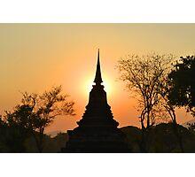 Sunset Prang Photographic Print