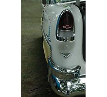 Rear Tail Lights '55 Chevy Bel Air Photographic Print