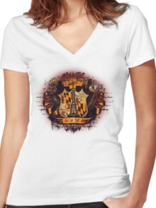 It's All in the Game Women's Fitted V-Neck T-Shirt