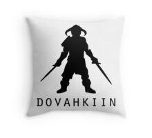 Skyrim Dovahkiin Throw Pillow