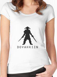 Skyrim Dovahkiin Women's Fitted Scoop T-Shirt