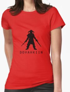 Skyrim Dovahkiin Womens Fitted T-Shirt