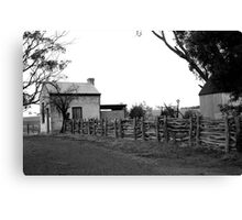 ruralscapes #141, follow the fence Canvas Print