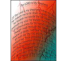 Lord is my Shepherd Photographic Print