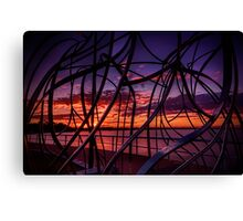 Fusion  -   to merge modern art with the beauty of nature Canvas Print