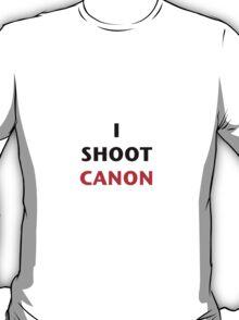 I Shoot Canon T-Shirt