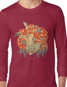 Red Head Long Sleeve T-Shirt