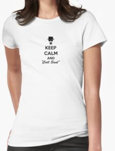 Keep Calm And Call Saul Womens Fitted T-Shirt