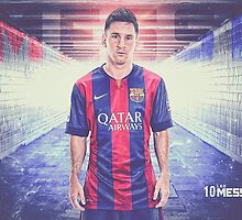 Messi  Soccer Legend Poster 3 by emamalarabiy