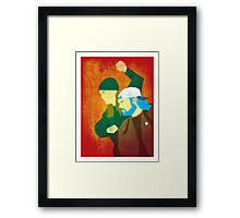Strike Back Framed Print