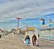 A beautiful morning on the boardwalk by henuly1