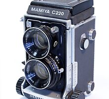 Mamiya C220 TLR Camera by Noel Elliot