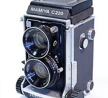 Mamiya C220 TLR Camera by Noel Elliot