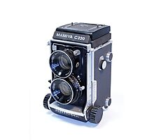 Mamiya C220 TLR Camera Photographic Print