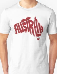 Australia Red T-Shirt