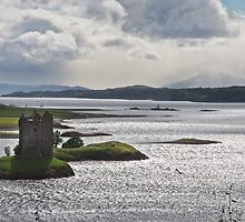 Castle Stalker - Appin by Chris Clark