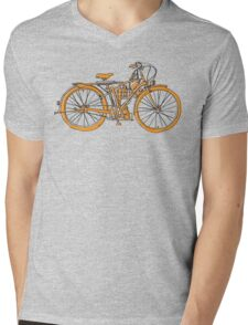 Steam Punk Cycling Mens V-Neck T-Shirt