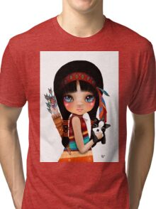 Native Girl Tri-blend T-Shirt