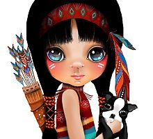 Native Girl by © Karin Taylor