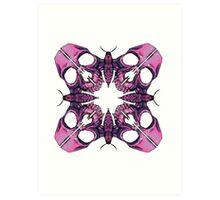 Mothskull Illustrative Art Print