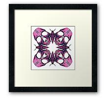 Mothskull Illustrative Framed Print