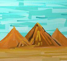 Pyramides... by Rachedi Kamel