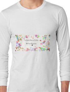 James Dean + Audrey Hepburn Long Sleeve T-Shirt