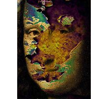 mona lisa raw Photographic Print