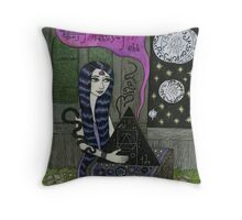 Sonic Device to Open Star Portals Throw Pillow