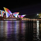 Psychedelic Sails by Chris Allen
