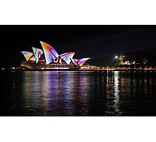 Psychedelic Sails Photographic Print